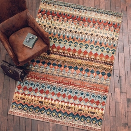 Aztec Lore Multi Rug Collection