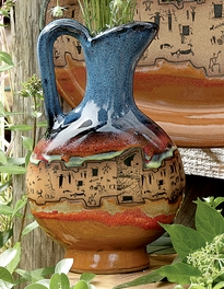 Azul Ruins Pottery Pitcher