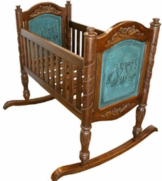 Baby Cradle - Turquoise