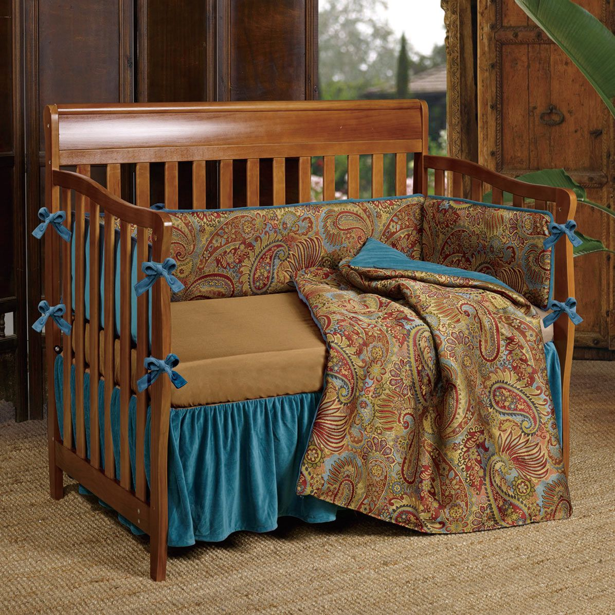 Baby San Angelo Crib Bedding Set - 3 pcs