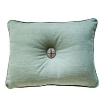 Balboa Linosa Turquoise Accent Pillow - 14 x 20