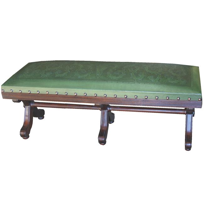 Barbara Green Double Bench