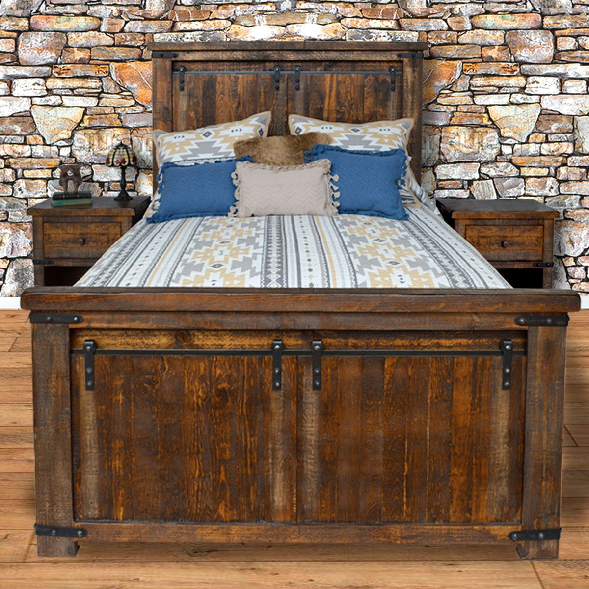 Barn Door Bed - Queen
