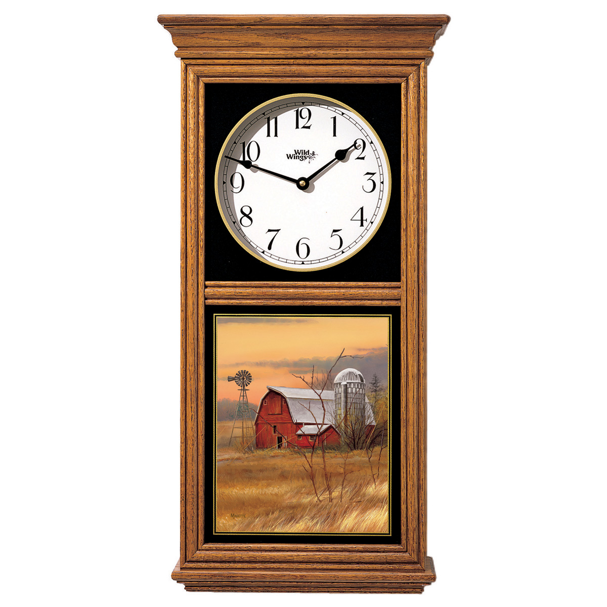 Barn Regulator Clock