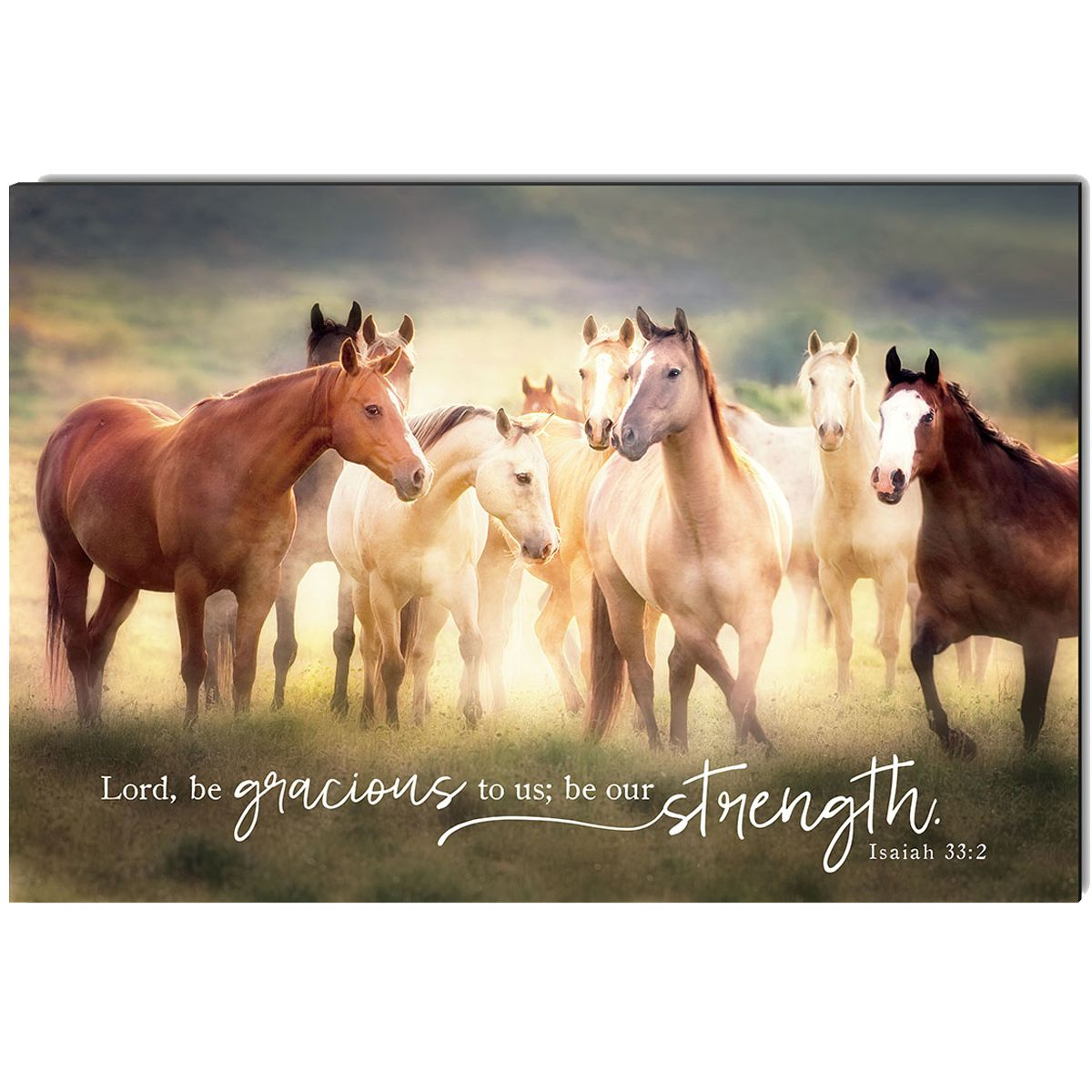 Be Our Strength Wrapped Canvas Art
