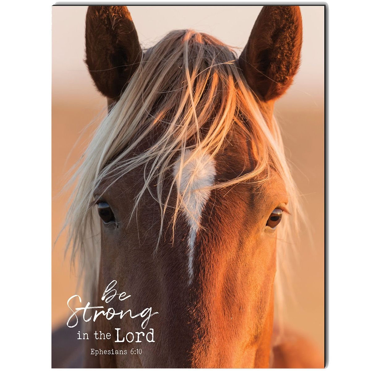 Be Strong in the Lord Wrapped Canvas Art