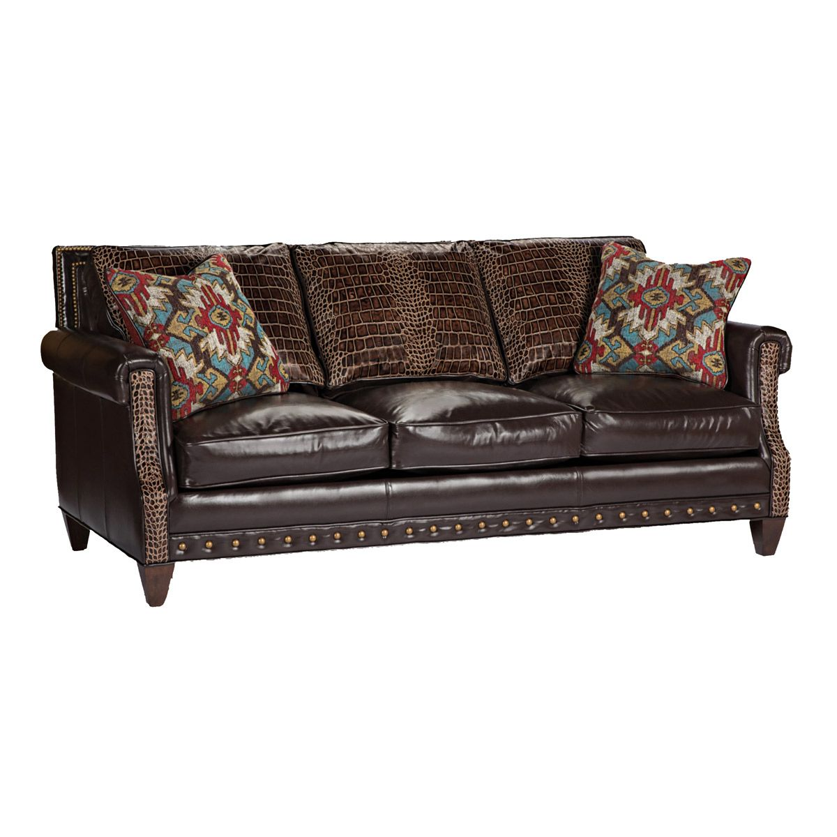 Copper Mountain Croc Sofa
