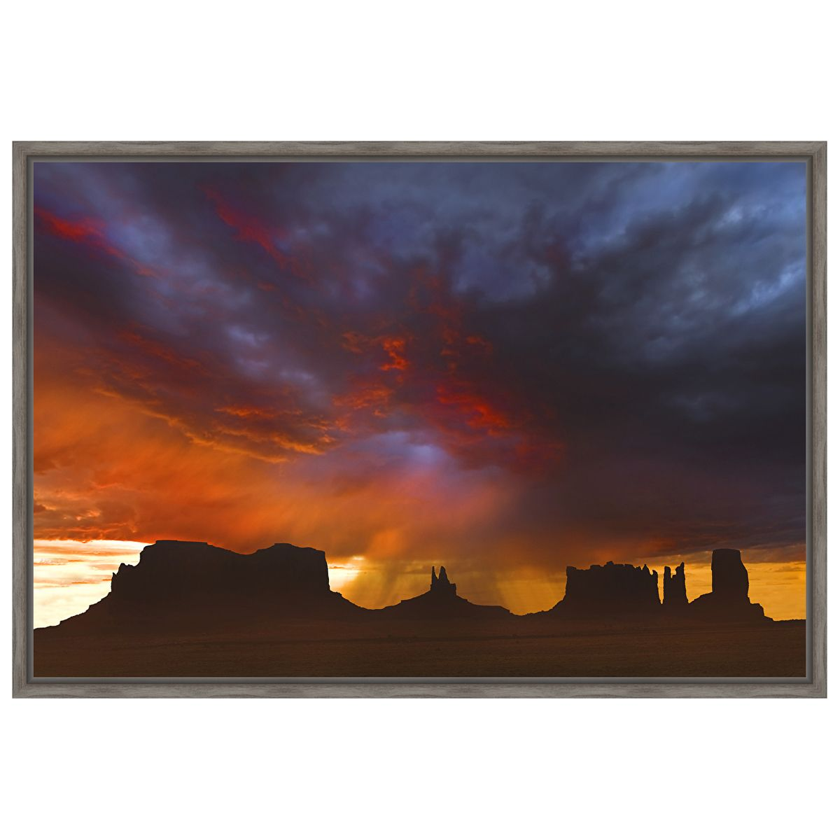 Before the Storm Framed Canvas