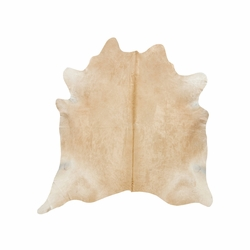 Beige Natural Cowhide Rugs