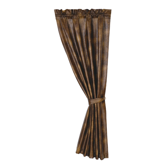 Bianca Faux Leather Curtain