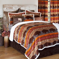 Bison Pass Bed Set - Twin