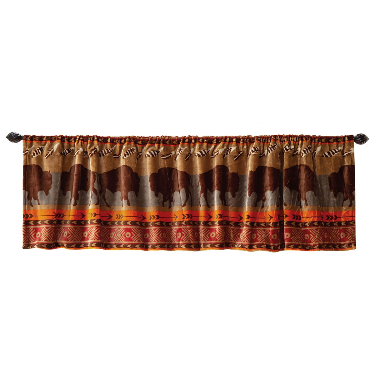 Bison Pass Valance