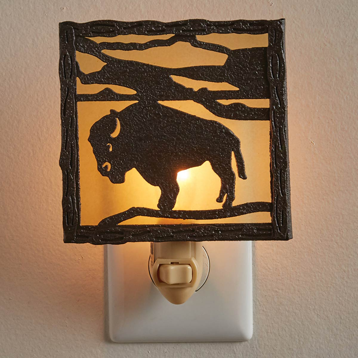 Bison Plain Nightlight