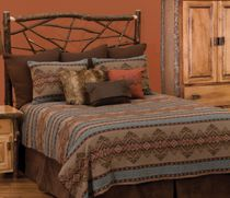 Bison Ridge II Deluxe Bed Set - Queen