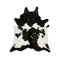 Black and White Special Cowhide Rug - Large