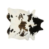 Black, Brown and White Special Cowhide Rug - Large
