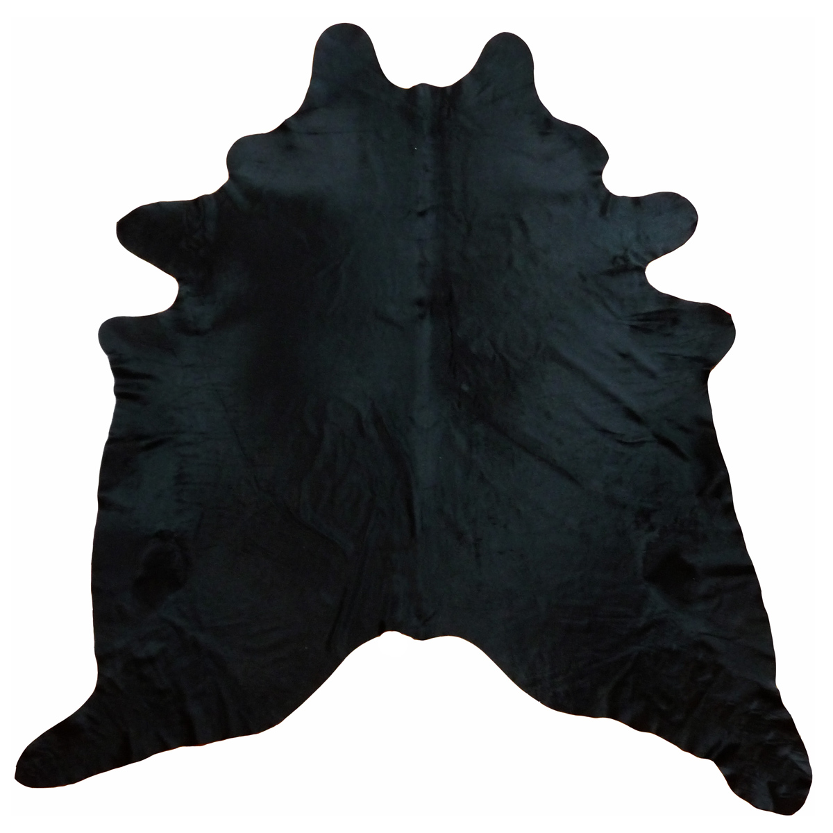 Black Dyed Cowhide - Extra Large