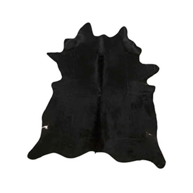 Black Natural Cowhide Rug - Extra Large