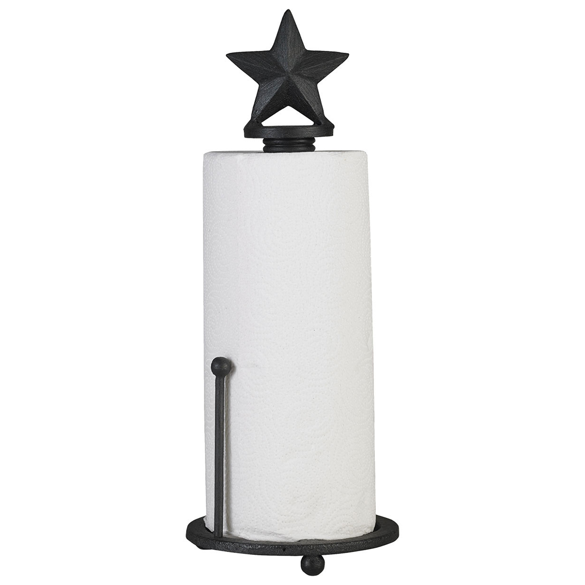 Black Star Paper Towel Holder