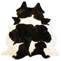 Black & White Holstein Cowhide - Large