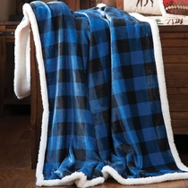 Blue Buffalo Check Throw