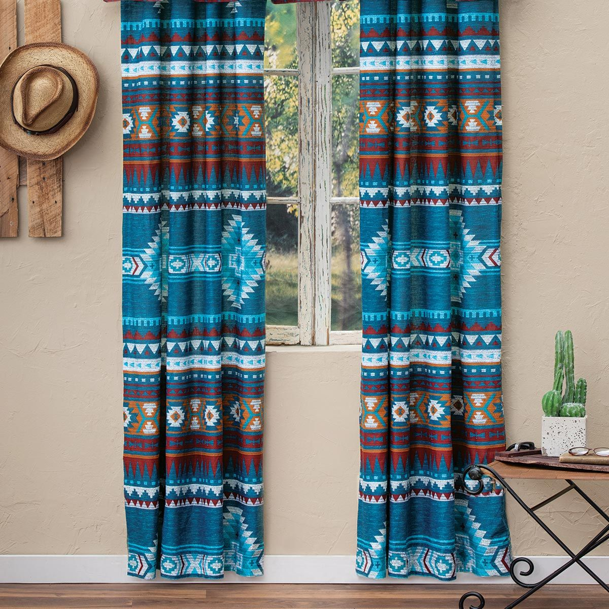 Blue Mesa Lined Drapes