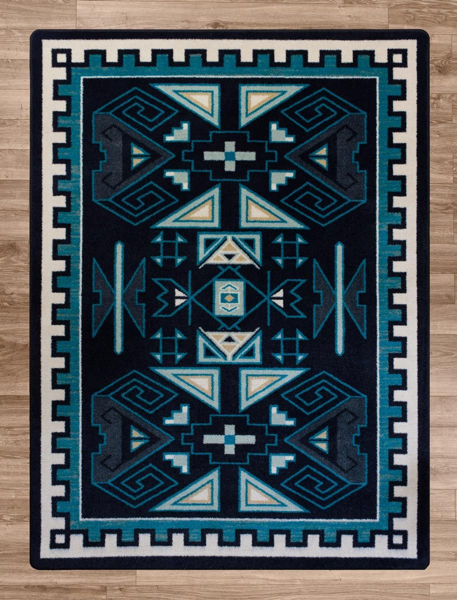 Blue Valley Rug - 4 x 5