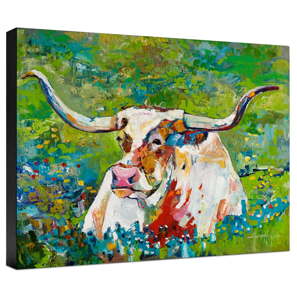 Bluebonnet Gallery Wrapped Canvas