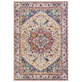 Bohemian Ivory Rug Collection