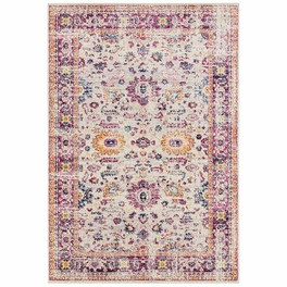Bohemian Pink Rug Collection