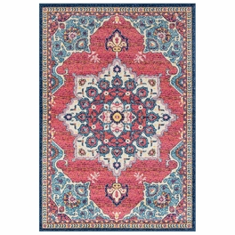 Bohemian Red Rug Collection