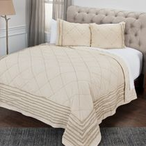 Boone Diamond Quilt King Sham