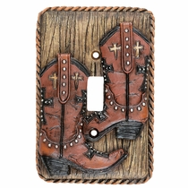 Boots & Rope Single Switch Plate