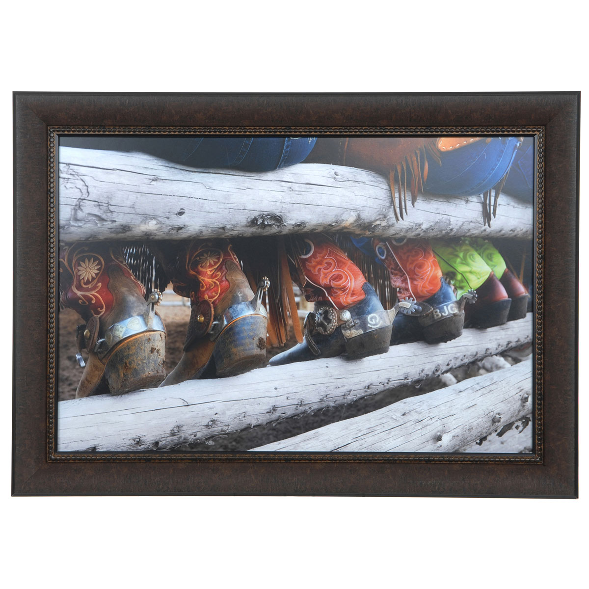 Boots & Spurs Rodeo Framed Print