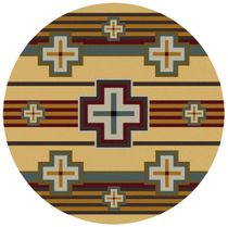 Bounty Maize Rug - 8 Ft. Round