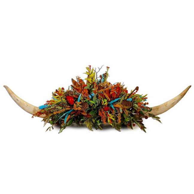 Bowen Double Horn Centerpiece