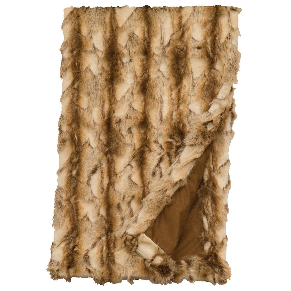 Brandy Fox Faux Fur Throw