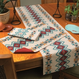 Bright Skies Southwest Table Linens