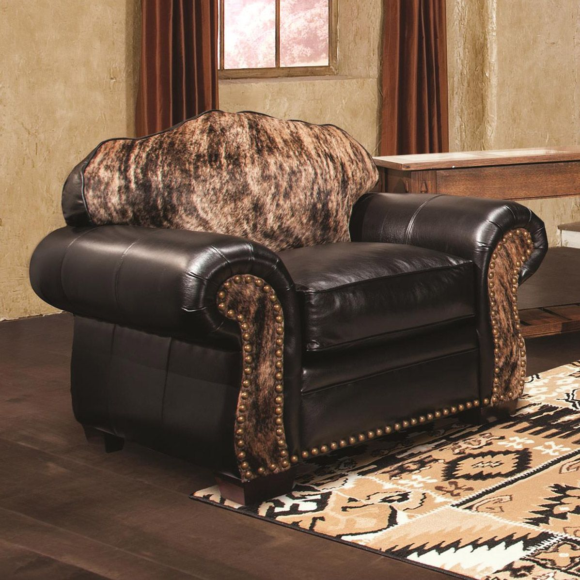 Black Creek Leather Chair