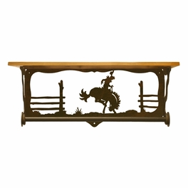 Bronc Bath Wall Shelf - 20 Inch
