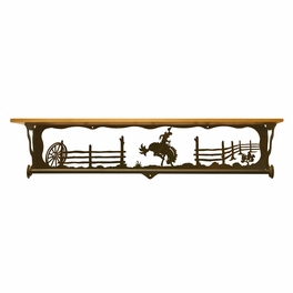 Bronc Bath Wall Shelf - 34 Inch