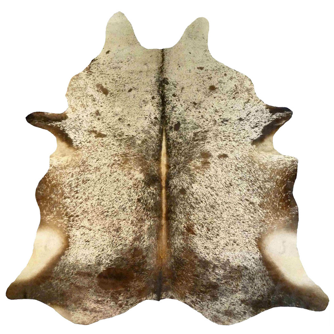 Brown Salt & Pepper Cowhide - Large