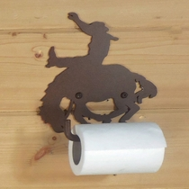Bucking Bronco Toilet Paper Holder
