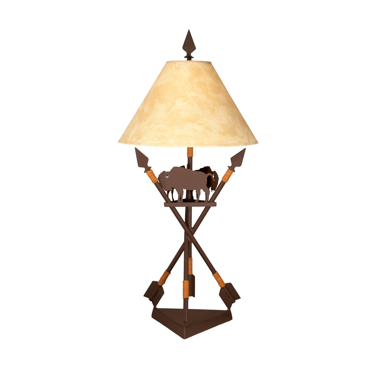 Buffalo & Arrows Table Lamp