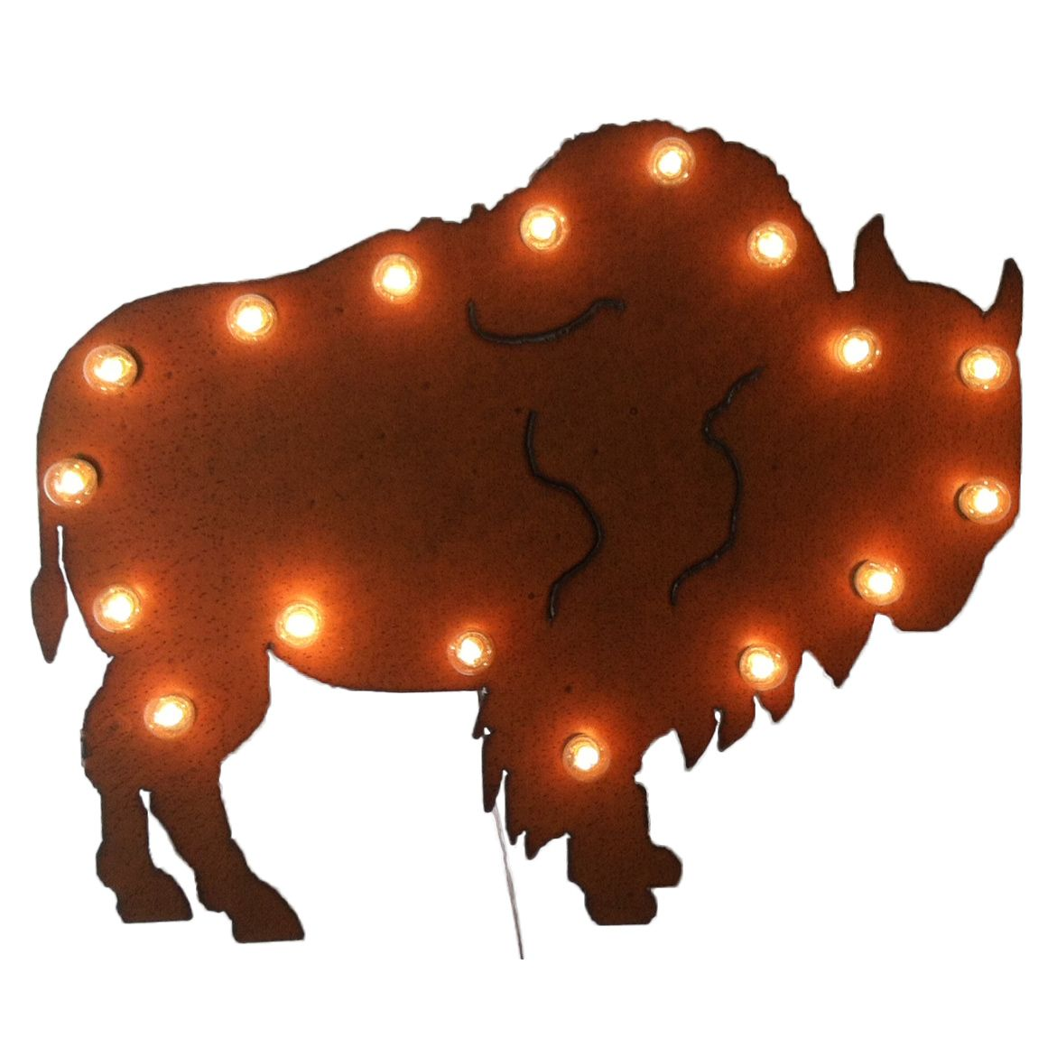 Buffalo Lighted Marquee Sign