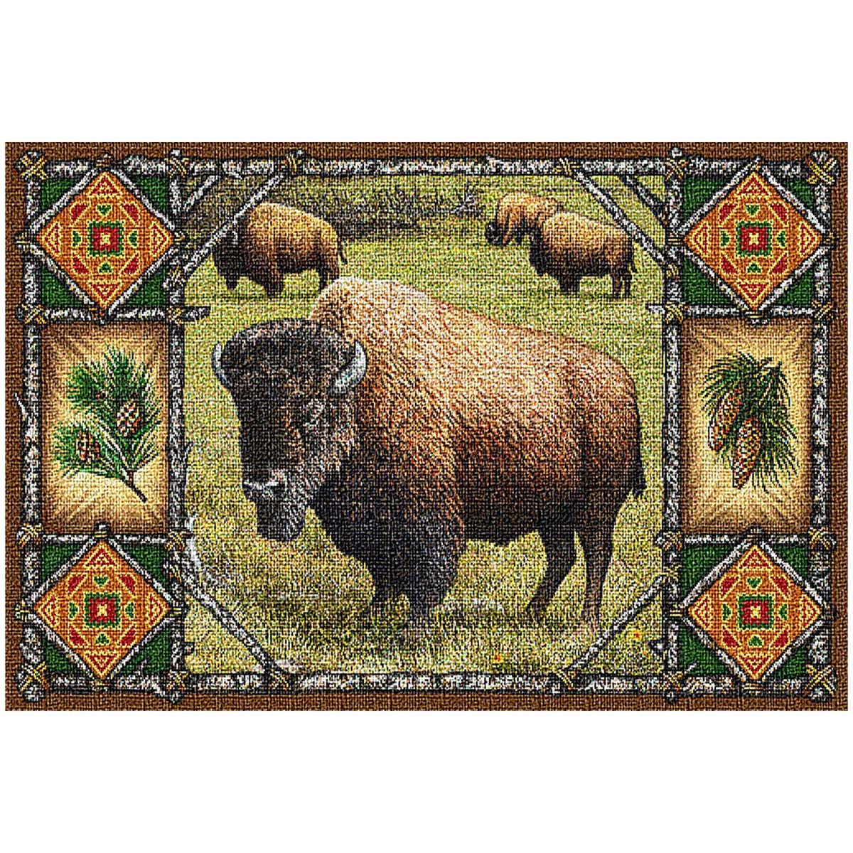 Buffalo Lodge Placemat