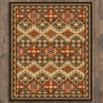 Buffalo Lodge Rug - 11 x 13