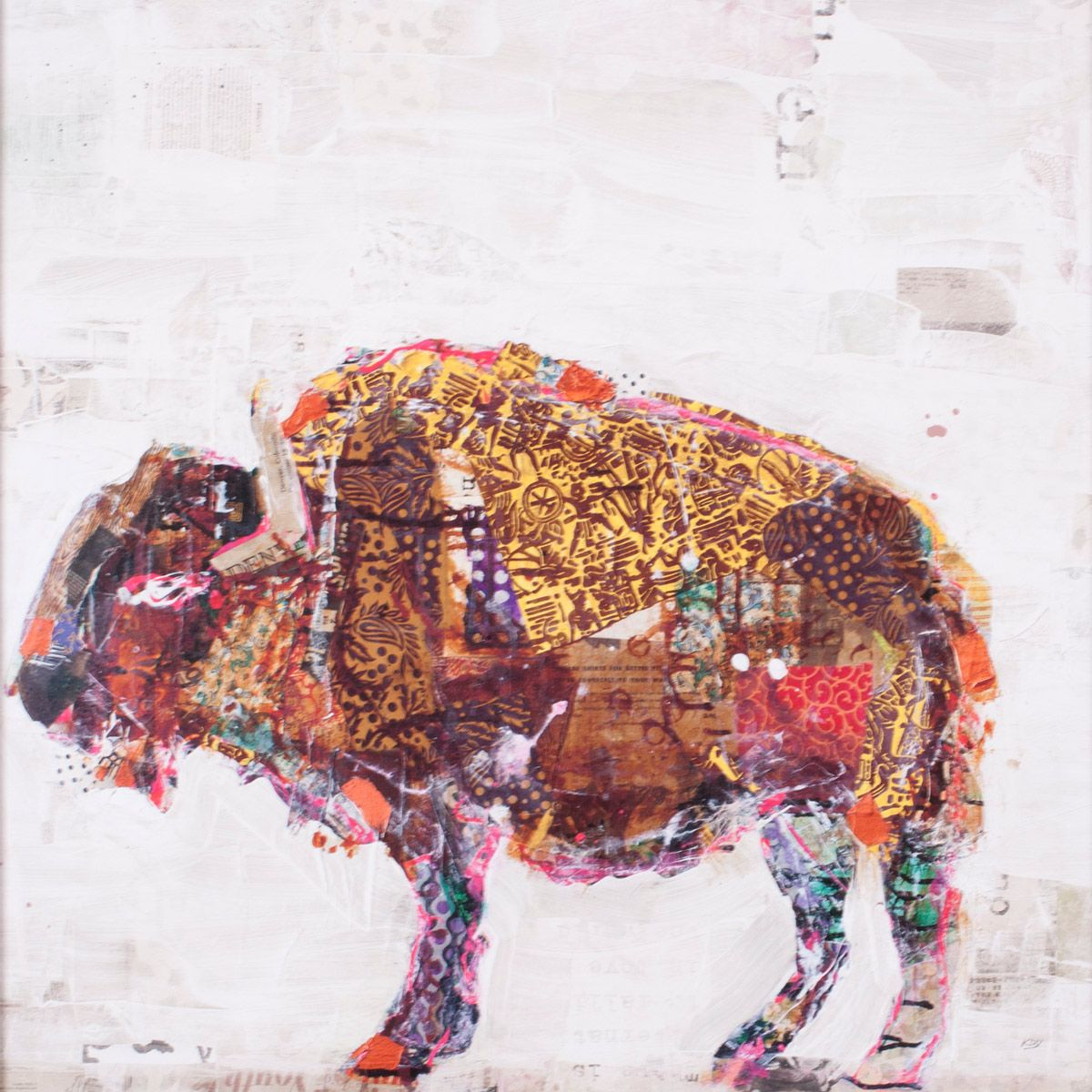 Buffalo Patterns Canvas Art