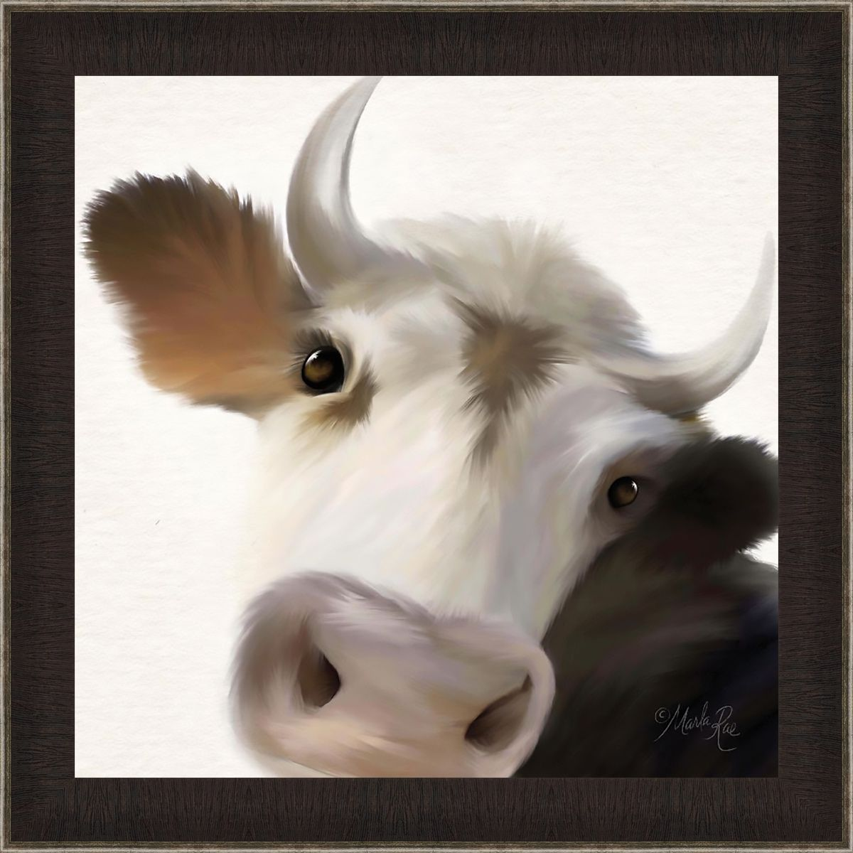 Bull Pose Canvas Art