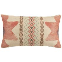 Burlap Print Pillow